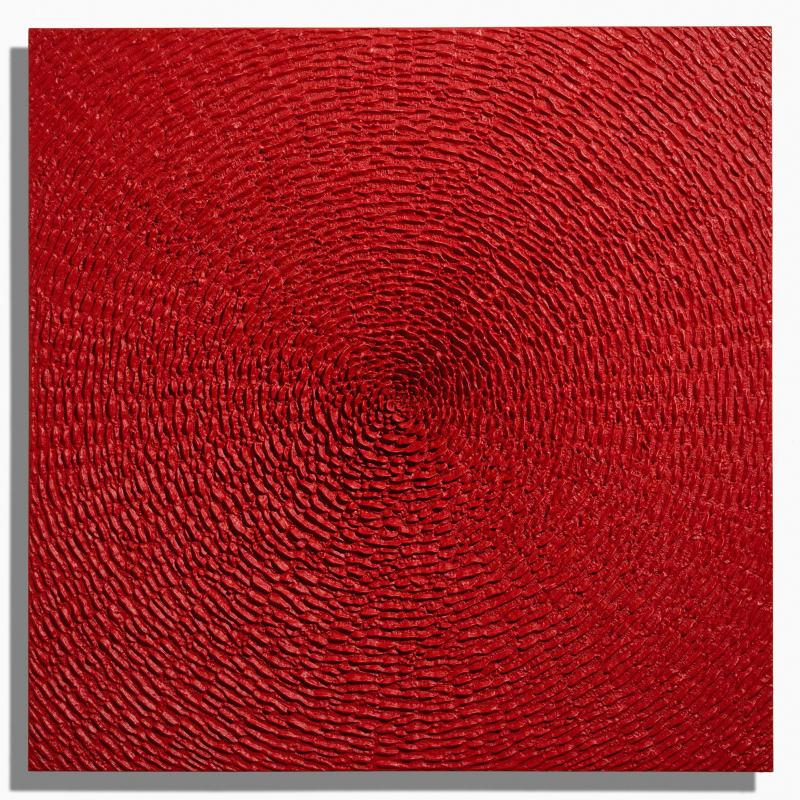 Martin Kline, New Red Bloom, 2019