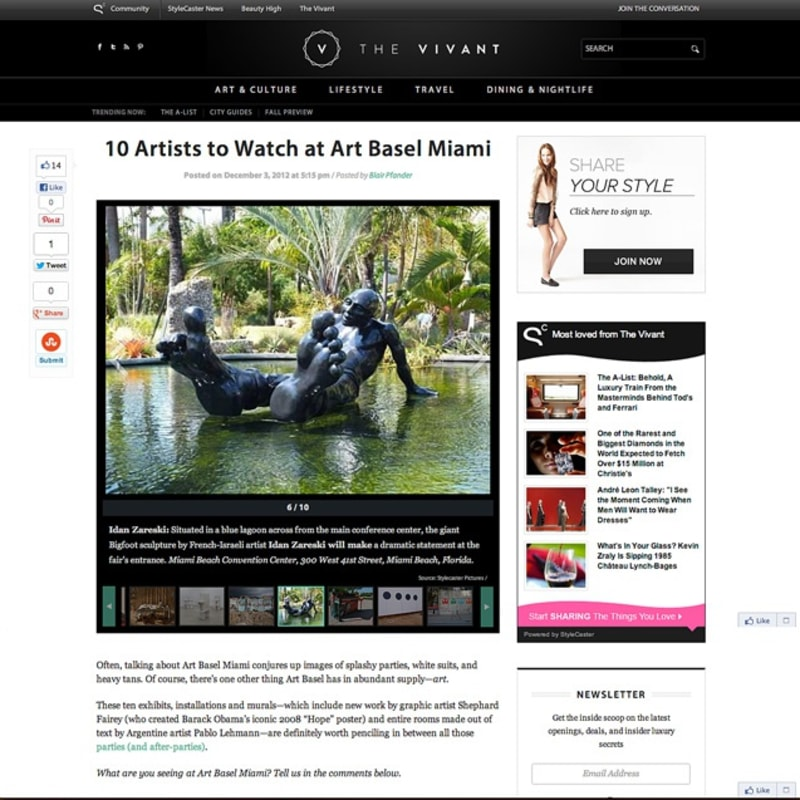 The Vivant - 10 artists to watch at Art Basel Miami