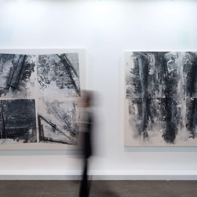Zheng Chongbin's artworks, 2016, Hong Kong Convention and Exhibition Centre 郑重宾作品,2016年,香港会议展览中心