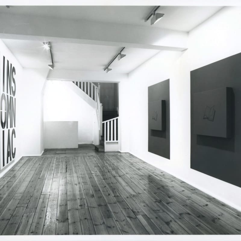 A Painting Show, installation view, January 1990