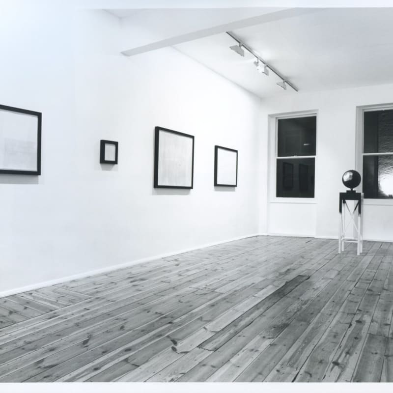 A Brave New World, installation view, March 1989