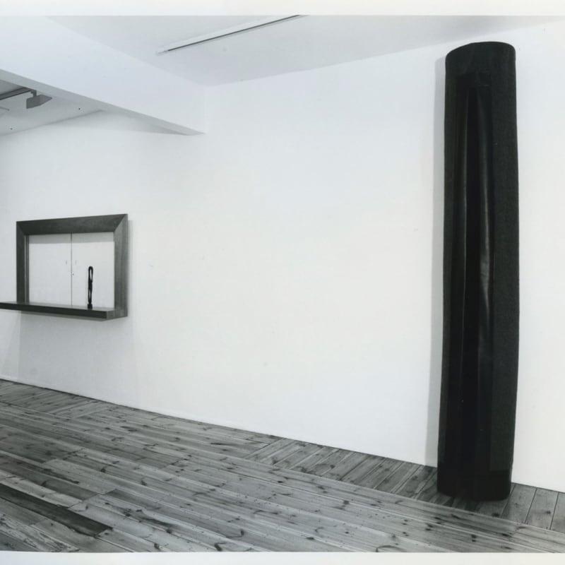Thomas Grünfeld: Sculpture, installation view, April 1988