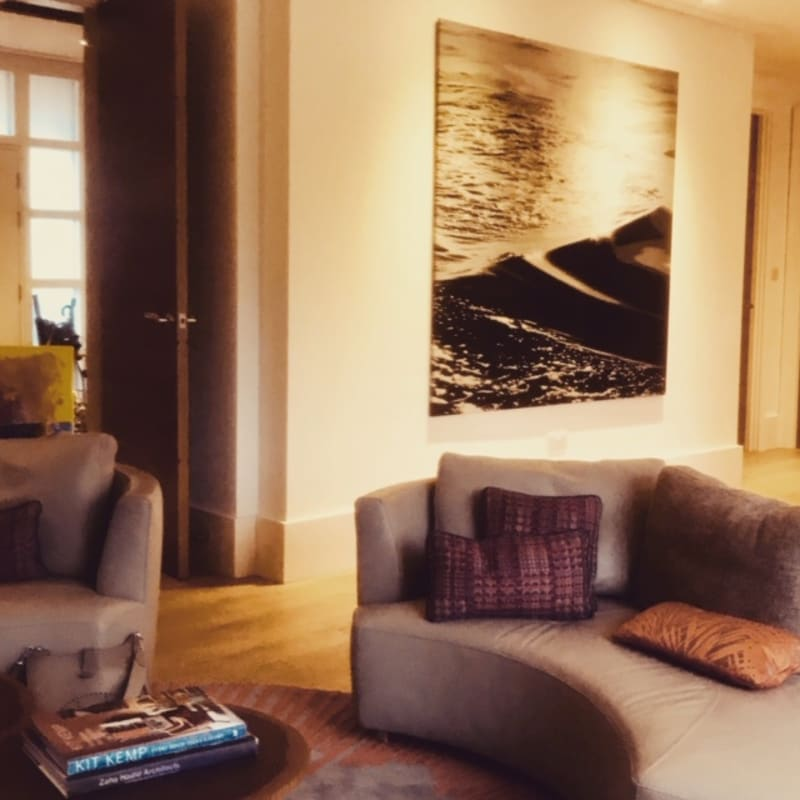 Sonja Weber, Water,  Private Residence, South West London