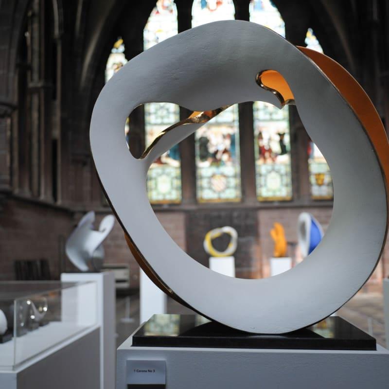 Matt Sherratt's solo show at Chester Cathedral.