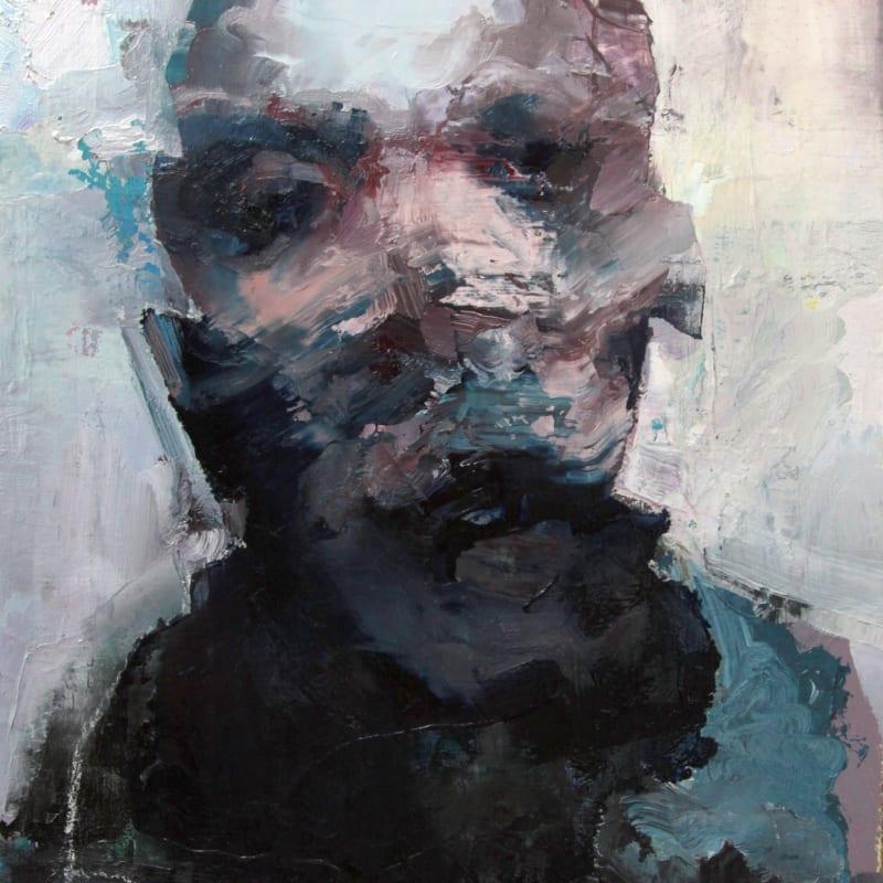 Cian McLoughlin  Tronie - Head of a man  Oil on canvas  17 x 13.5 inches