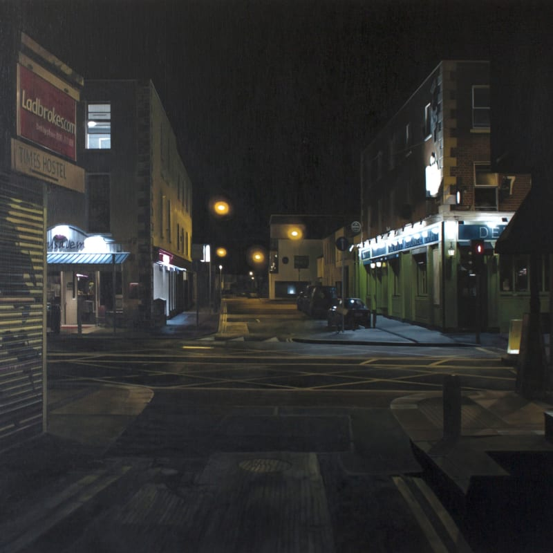 Francis Matthews  Camden St - west  Oil on canvas  90 x 143 cm