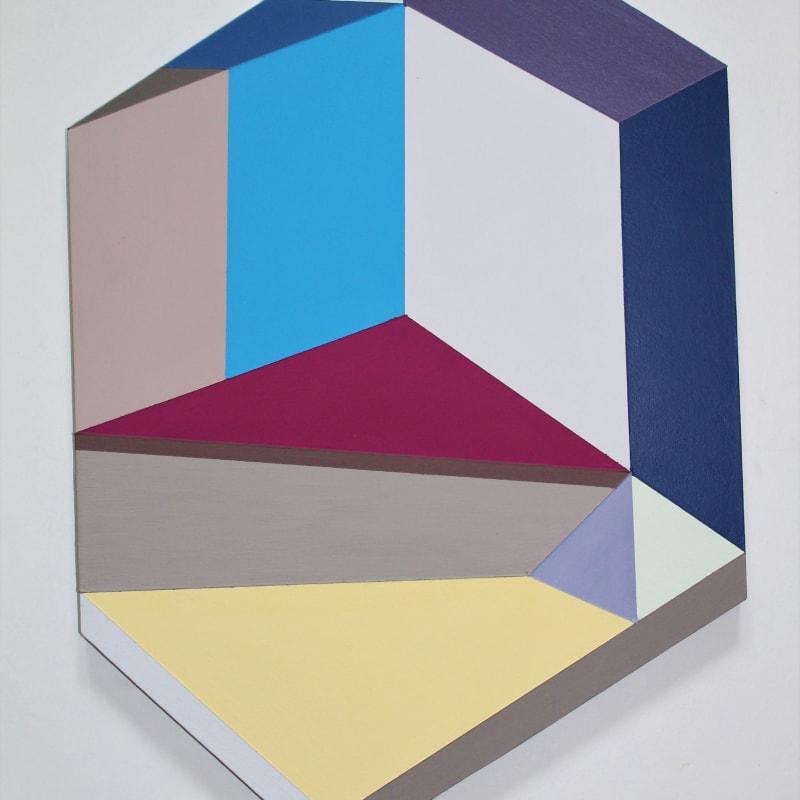 Megan Burns, 'Altered space 0.11', emulsion on board, 45 x 31 cm