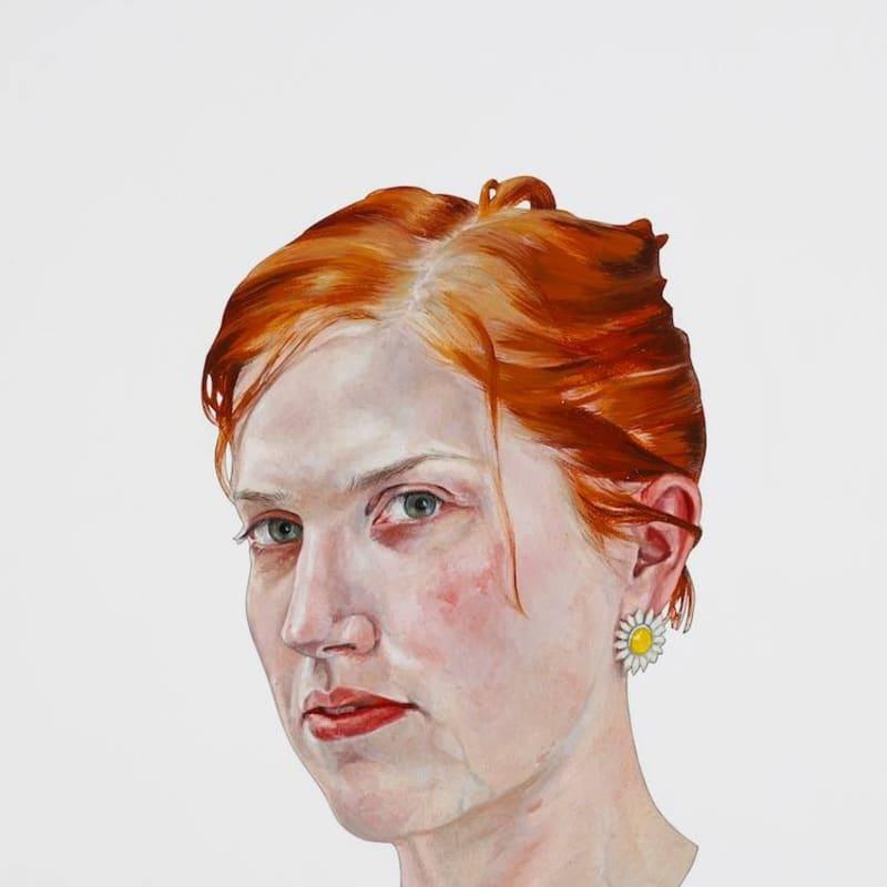Vera Klute, 'Hannah Doyle', oil & acrylic on canvas
