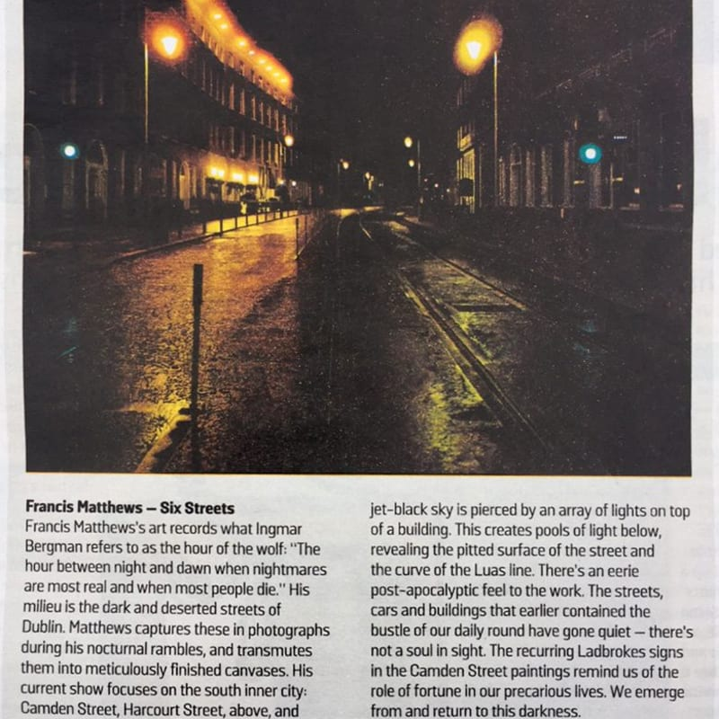 Six Streets: Francis Matthews