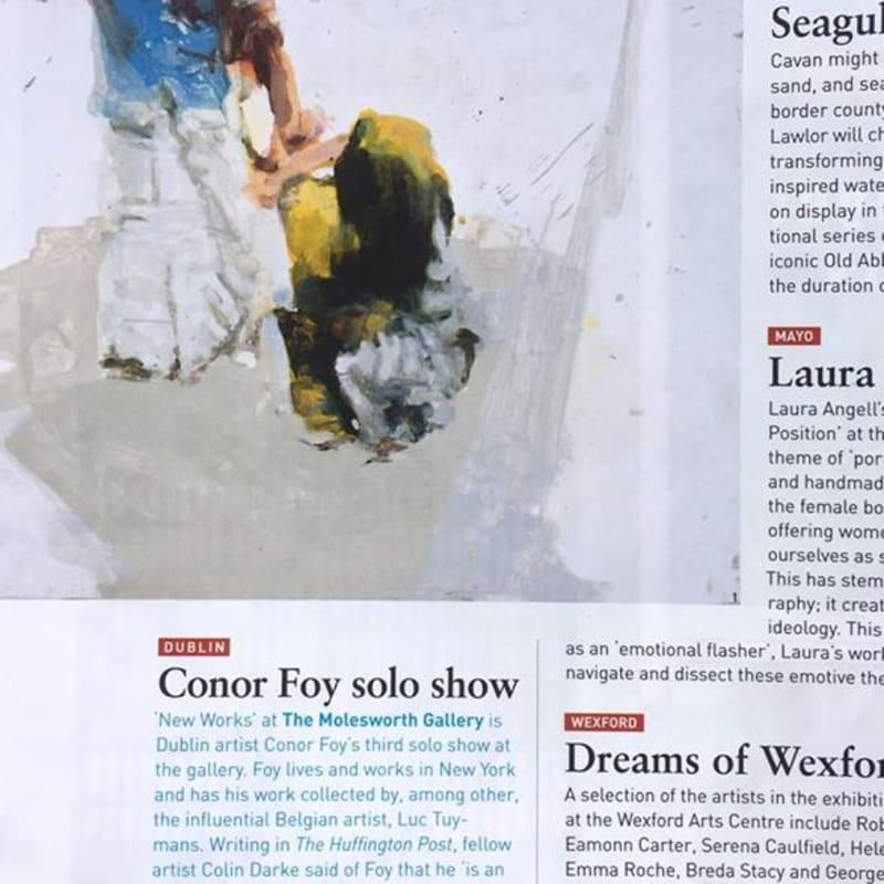 Conor Foy: The Irish Arts Review