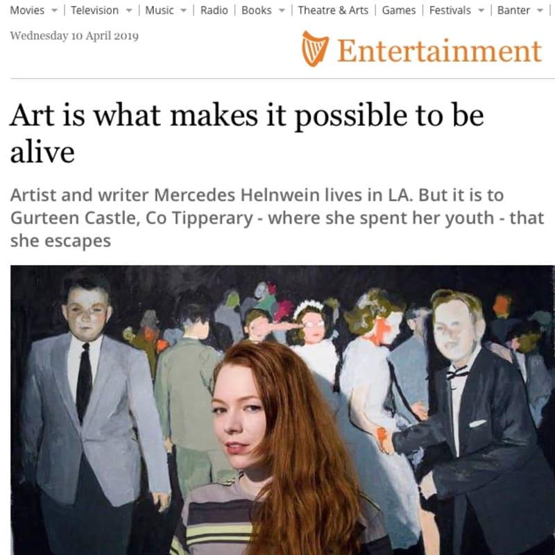 Mercedes Helnwein interview