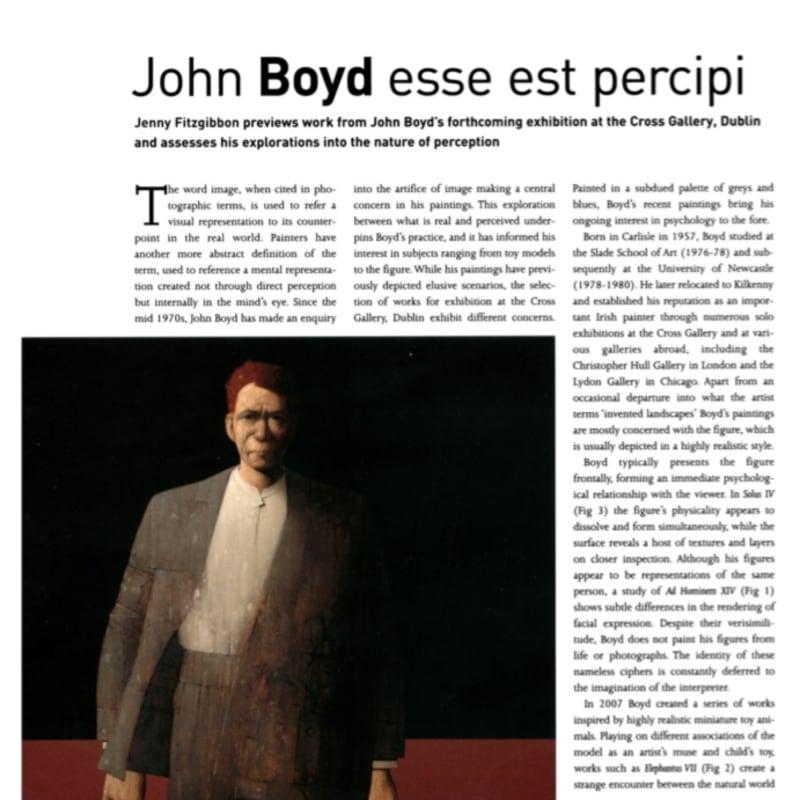 John Boyd: The Irish Arts Review