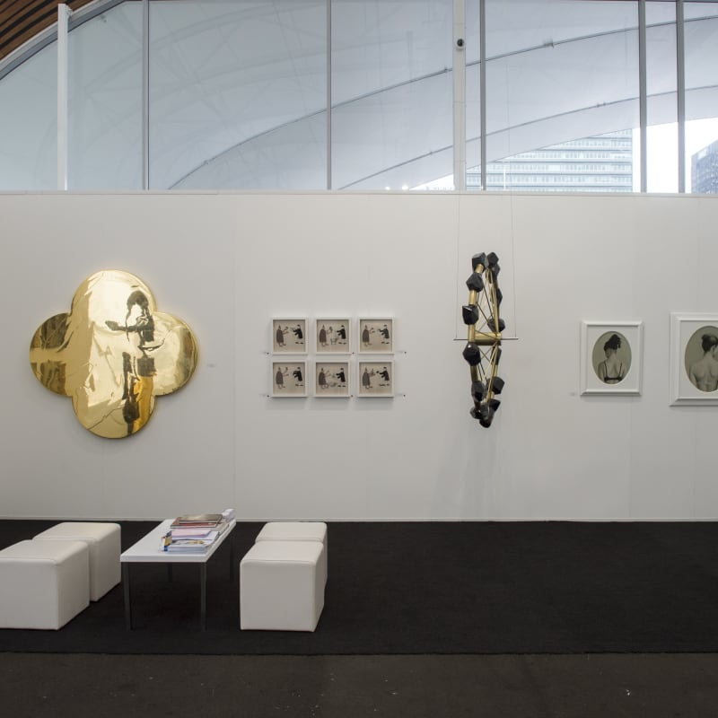 Installation view of Page Blackie Gallery, Auckland Art Fair 2018, The Cloud, Auckland. Photo: Ryan McCauley.