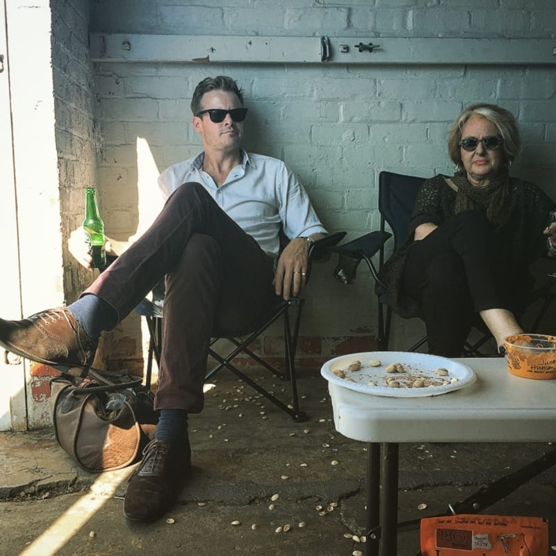 James Blackie & Marica Page, 2017. Photo: Stuart Robertson.