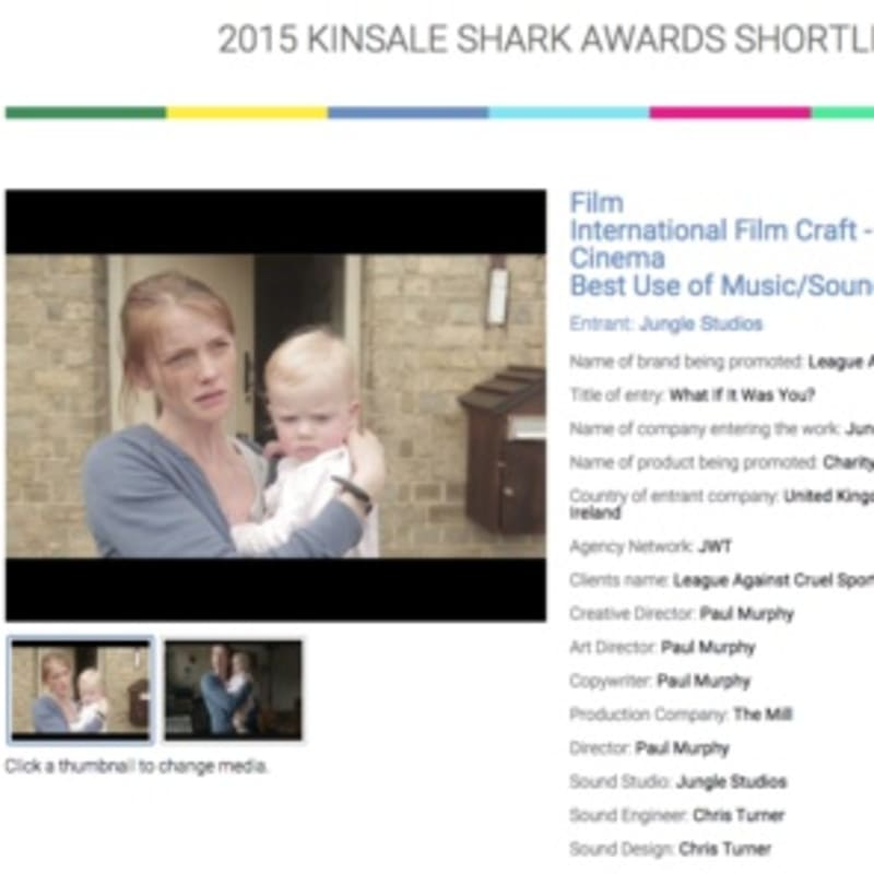 'What If' shortlisted for a Kinsale