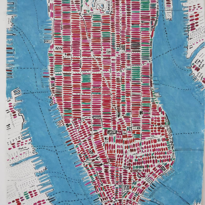 Barbara MacFarlane, Watermelon Manhattan, 2015