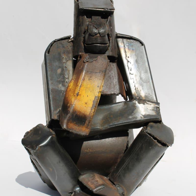 Iain Nutting, Seated Gorilla, 2015