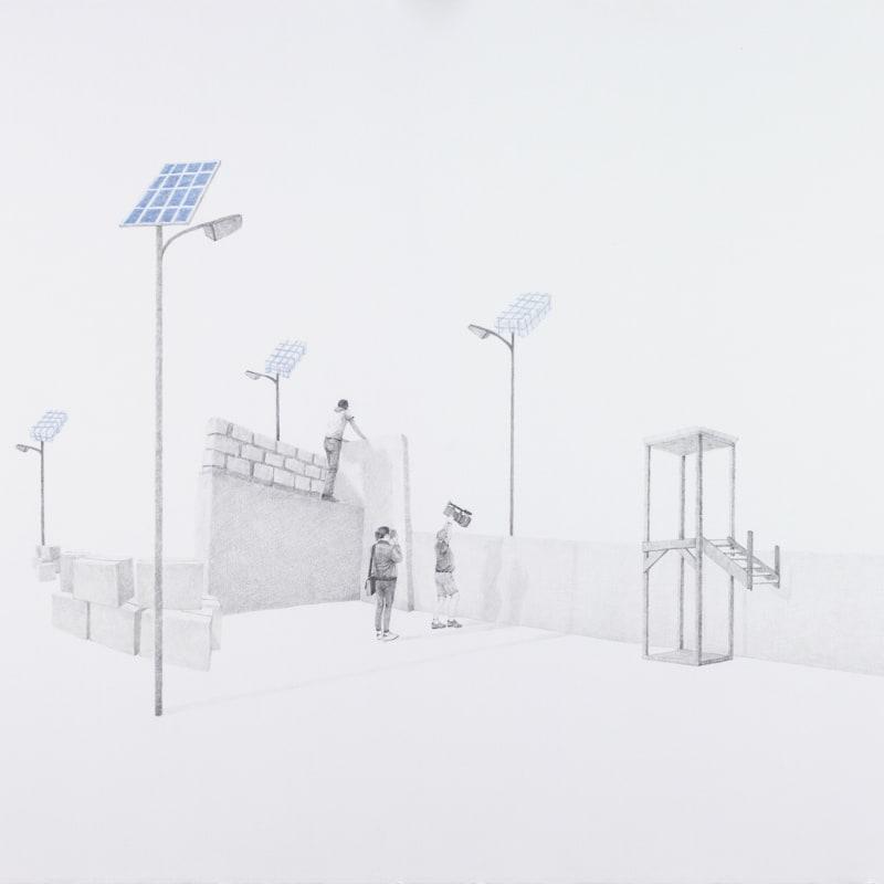 Massinissa Selmani, Untitled 1 (no plan is foolproof), 2019