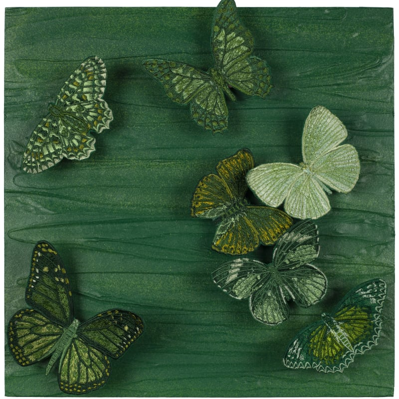 Emerald Butterfly Relief, 2019