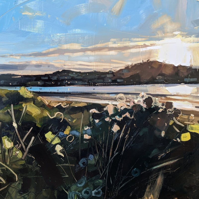 North Berwick Law, Oil on Board, 46cm x 61cm, £1250