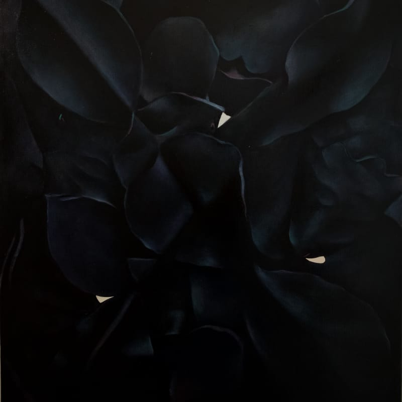 Louise Giovanelli An Ex II, 2018 Oil on canvas 65 x 55 cm Courtesy of the artist and Workplace Foundation