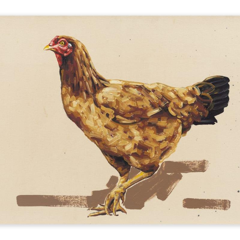 """Fábio Baroli, Sem Título, série """"O vendedor de galinhas"""", 2014"""