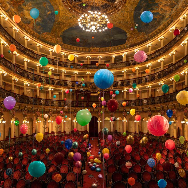 Flávia Junqueira, Teatro Amazonas #5, 1896, 2019