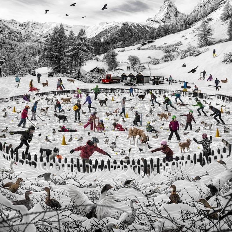 Marcelo Tinoco, Lagoa dos Patos 2- Matterhorn, Suíça, 2020