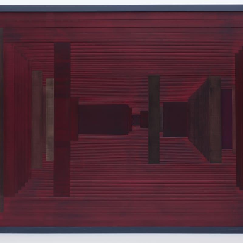 Janaina, Labirinto IV - vermelho, 2015