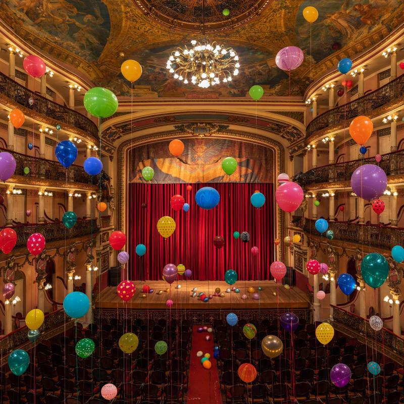 Flávia Junqueira, Teatro Amazonas #2, 1896, 2019