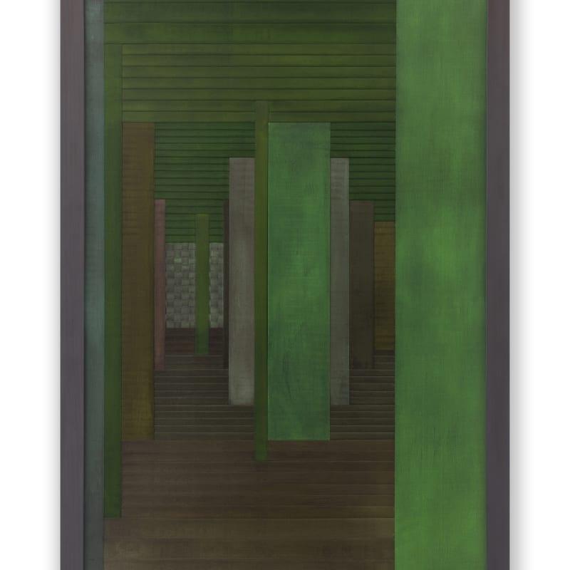 Janaina Mello Landini, Labirinto Rizomático - série VI - Detalhe (Veneza Campo de San Silvestro), 2020