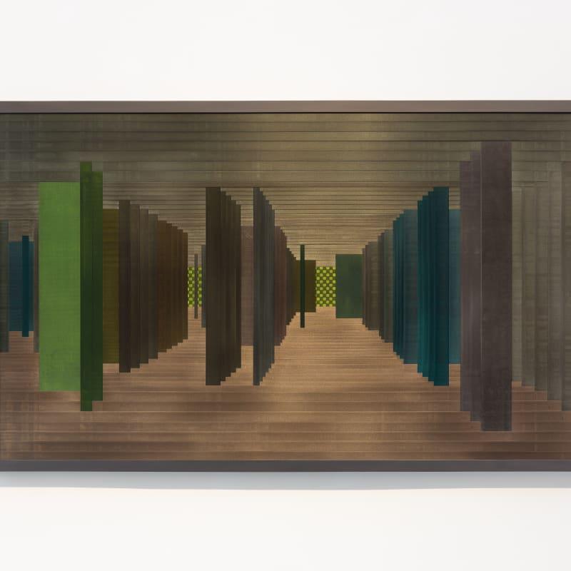 Labirinto Rizomático - série VI Oeste (Veneza Campo de San Silvestro), 2020