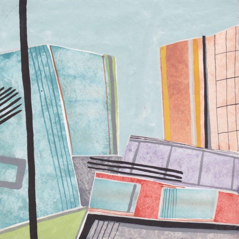 Chloe Fremantle ARWS, Urban: Wood Lane no 3