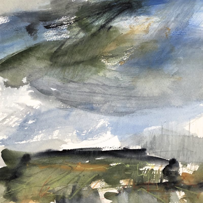 Lucy Marks ARWS, Towards the Light, Above the Cliff