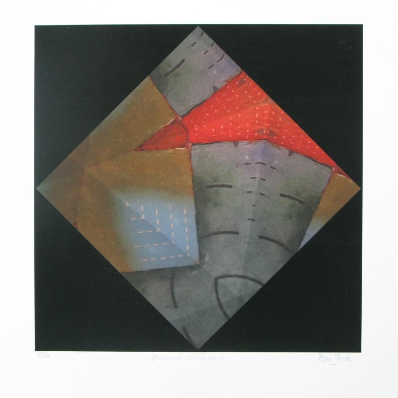 Peter Ford RE, Diamond Stitch Work