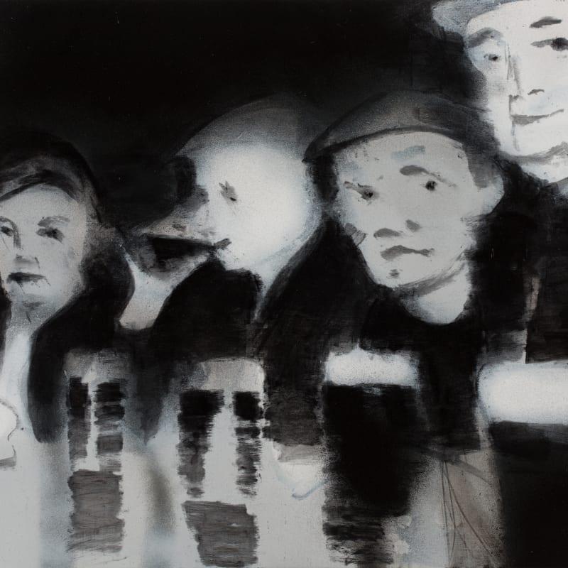 Jonathan Huxley RWS, London Drinkers