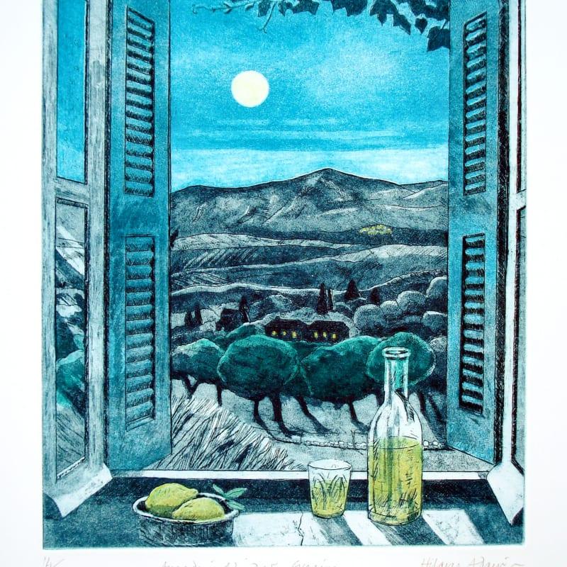 Hilary Adair RE, Arcadian Window, Evening