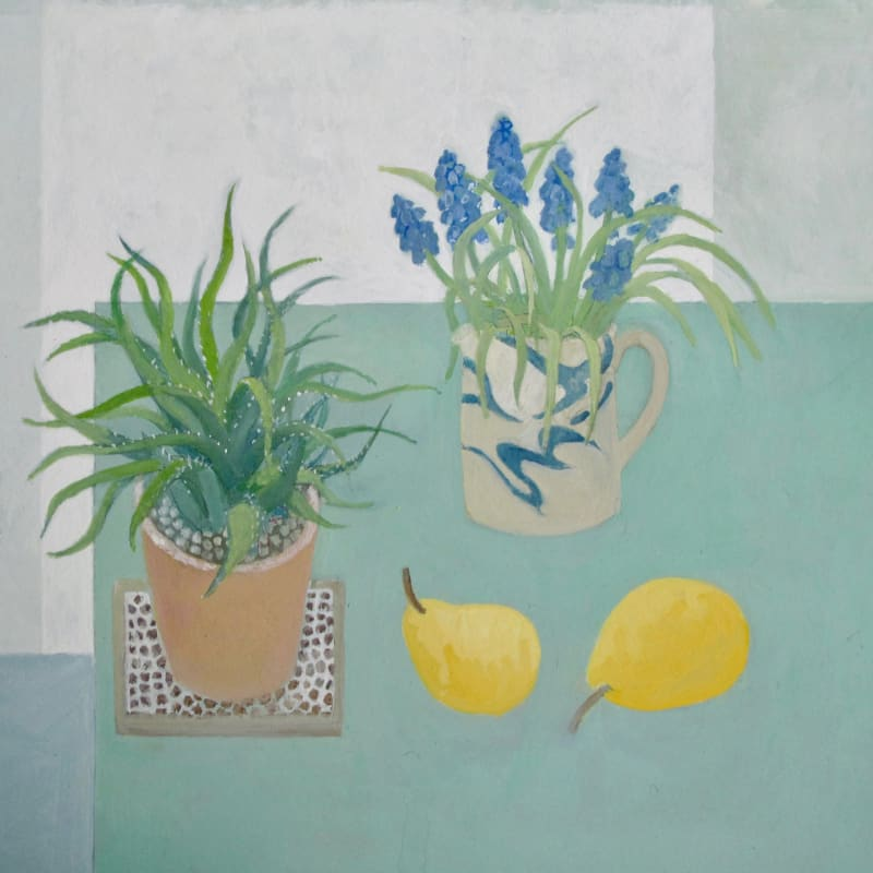Wendy Jacob RWS, Grape Hyacinths