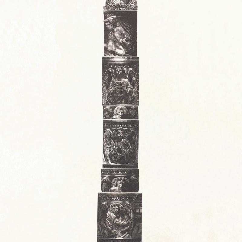 Anne Desmet RA RE, Tower of Angels