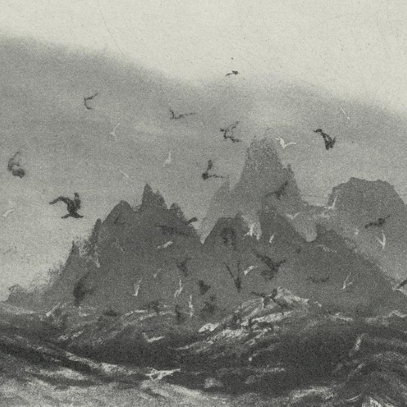 Norman Ackroyd RA RE, Skellig Revisited