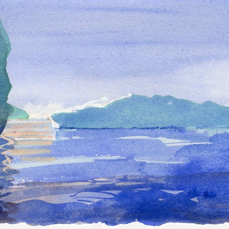 Simon Pierse RWS, Icebergs, Ilulissat Icefjord (I)