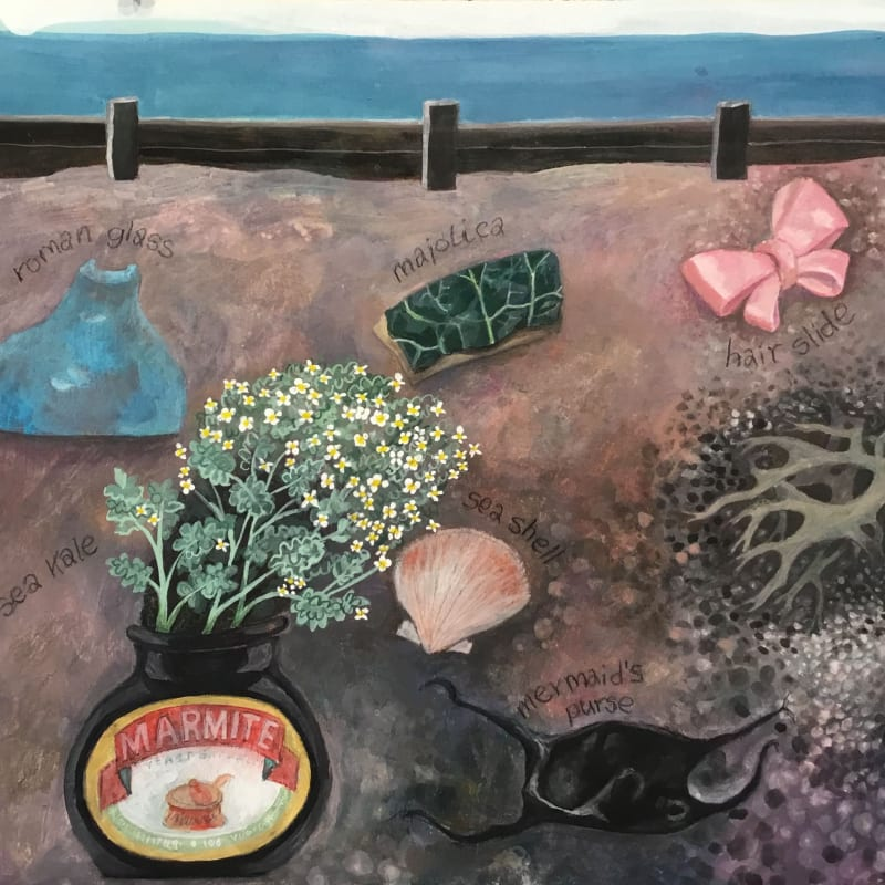 Gertie Young RWS, Things I Found Beachcombing