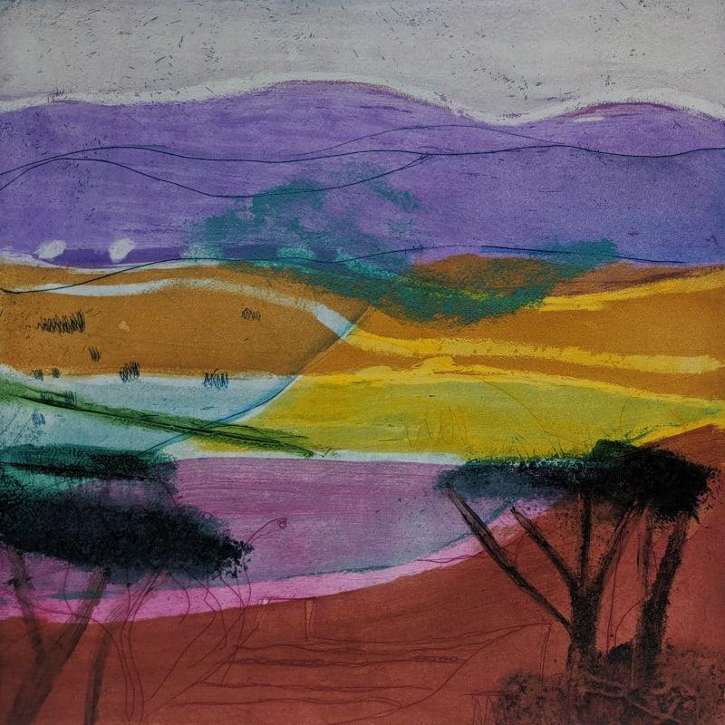 Louise Davies RE, Summer Haze