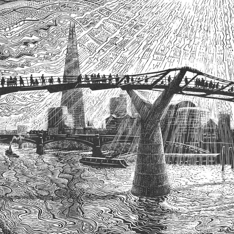 John Bryce RE, Millennium Bridge