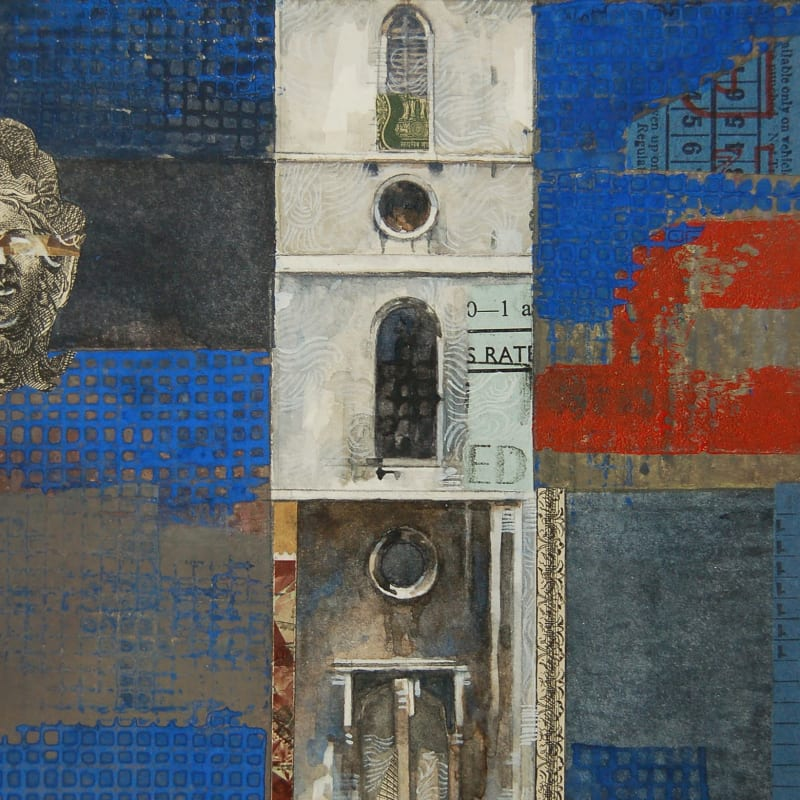 Stuart Robertson RWS, St Mary Somerset Tower