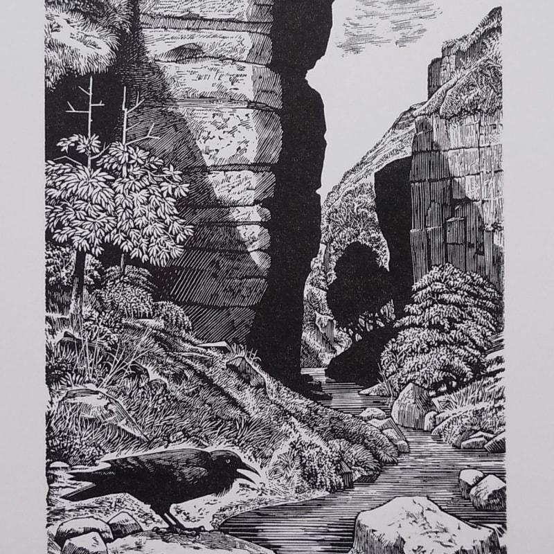 Ian Stephens RE, Corbie Crags