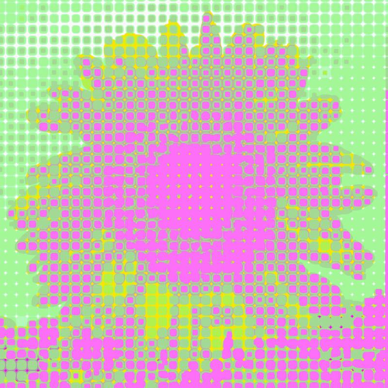 Libby Lloyd ARE, Marshmallow Atomic Sunflower