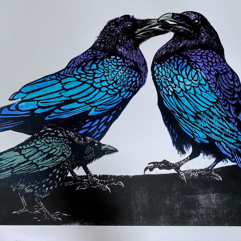 Julia Manning RE, Crow Disturbs The Ravens 2