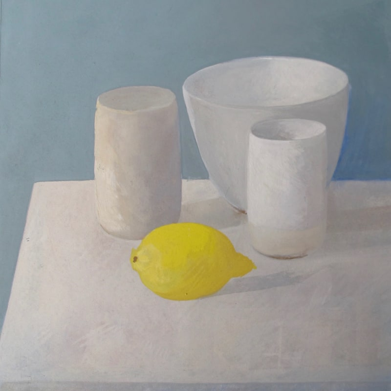 Wendy Jacob RWS, Three White Vessels