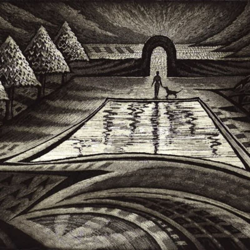 Jeremy Blighton RE, The Fish Pond